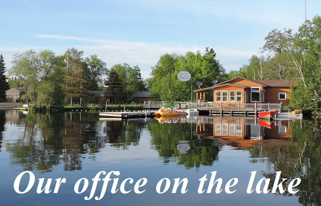Office on the lake