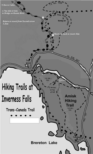 hiking map 2020